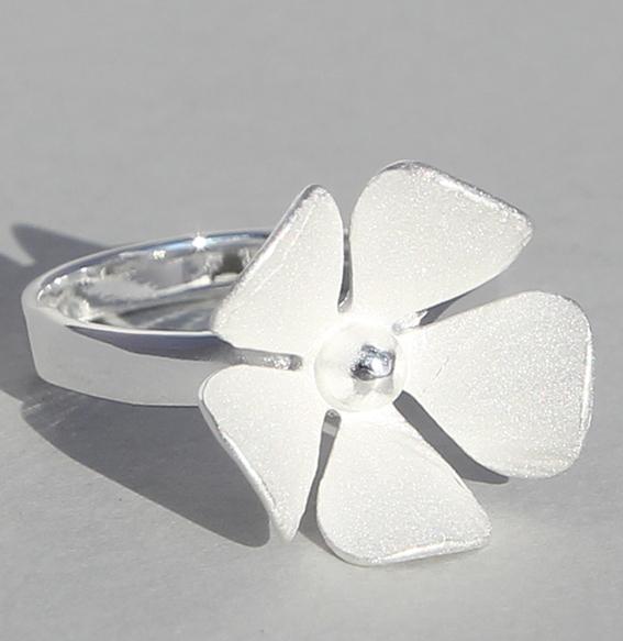 Silberring | Silberblüte
