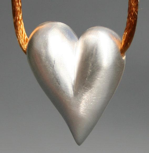 Silberanhänger Herz | Klein