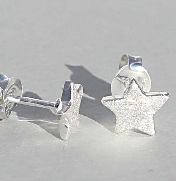 Silberohrstecker | Sterne