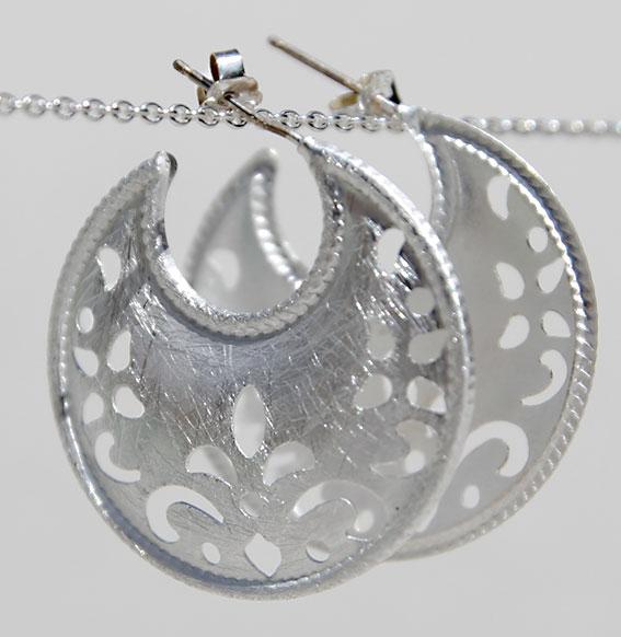 Ohrhänger | Halbmond Ornament