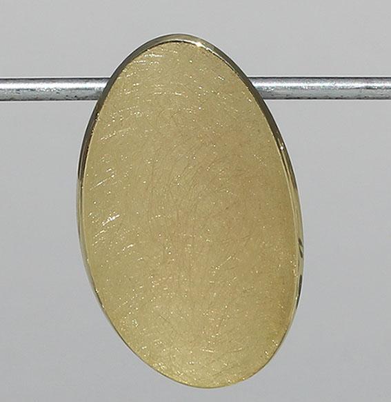 """Silberanhänger """"Wanne"""" Silber vergoldet"""