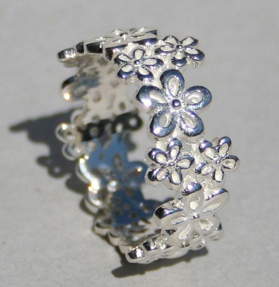 Silberring -little Flower-