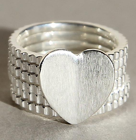 Silberring | Heartpower
