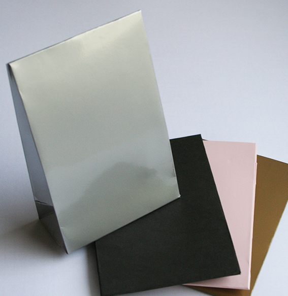 Papier Faltbox 11x15 cm | schwarz