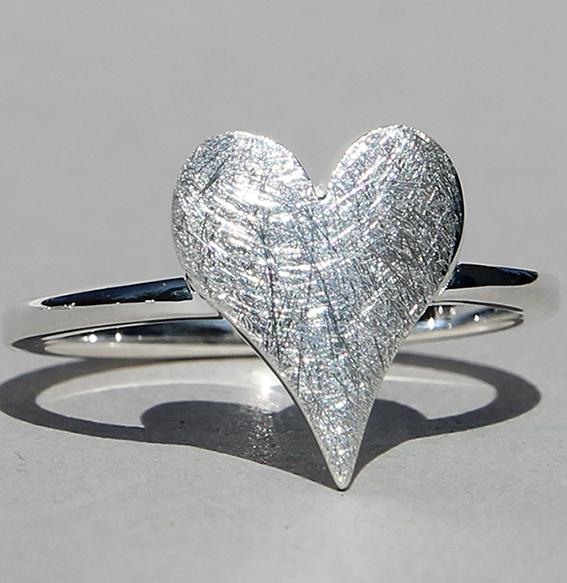 Silberring | sharp heart