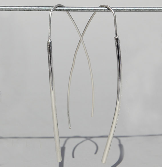 Silberohrhänger