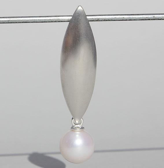 """Silberanhänger """"Antonella"""" mit SWZ Perle 10mm"""