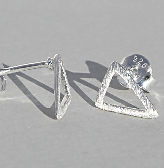 Silberohrstecker | Triangel