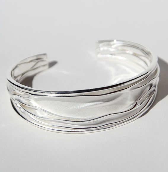 Silberarmreif 20 mm