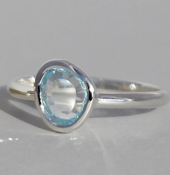 Silberring mit Topas | fine sparkle