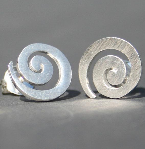 Spiral-Ohrstecker | groß