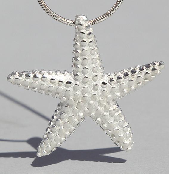Silberanhänger | Seestern