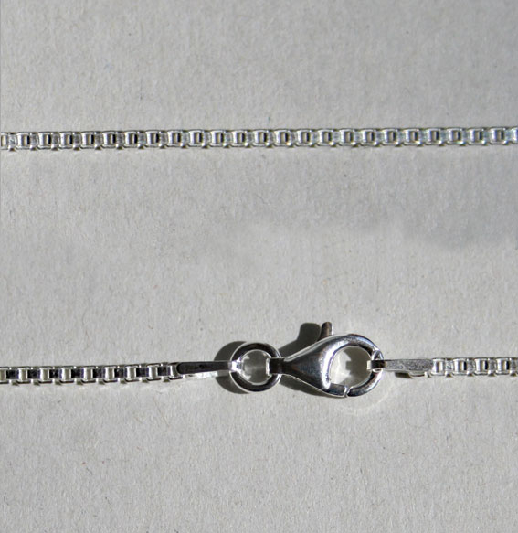 Venezianerkette 1,5 mm silber