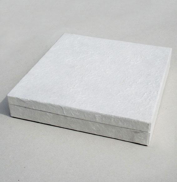 Papierbox -Collier- weiß VPE10