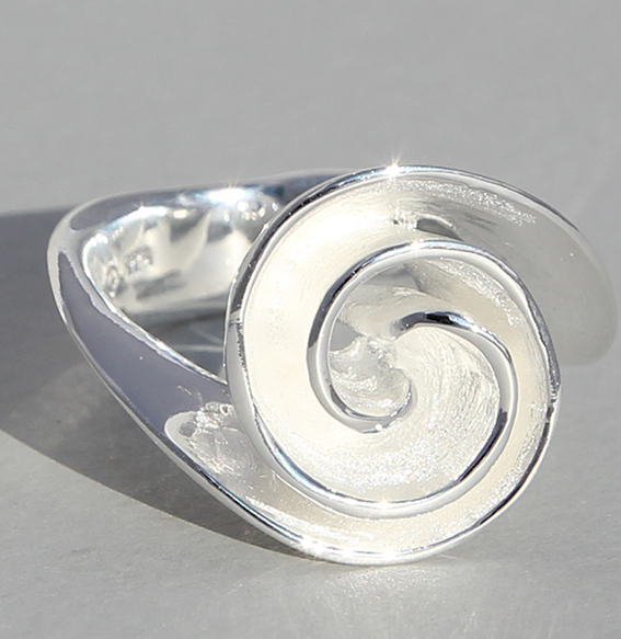 Silberring | Spirale