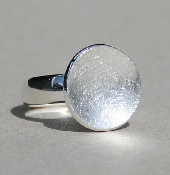 Silberring Schale klein
