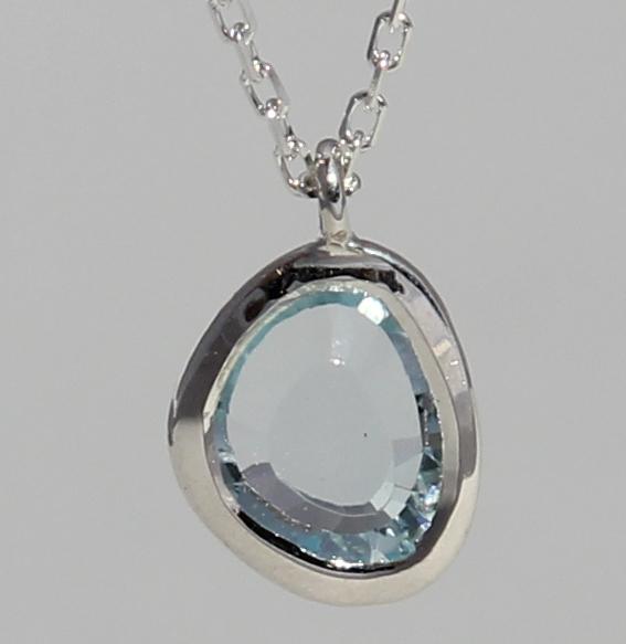 Silberanhänger mit Topas | fine sparkle